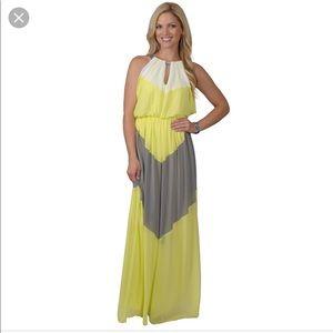 Floor Length Vince Camuto Halter Dress!!